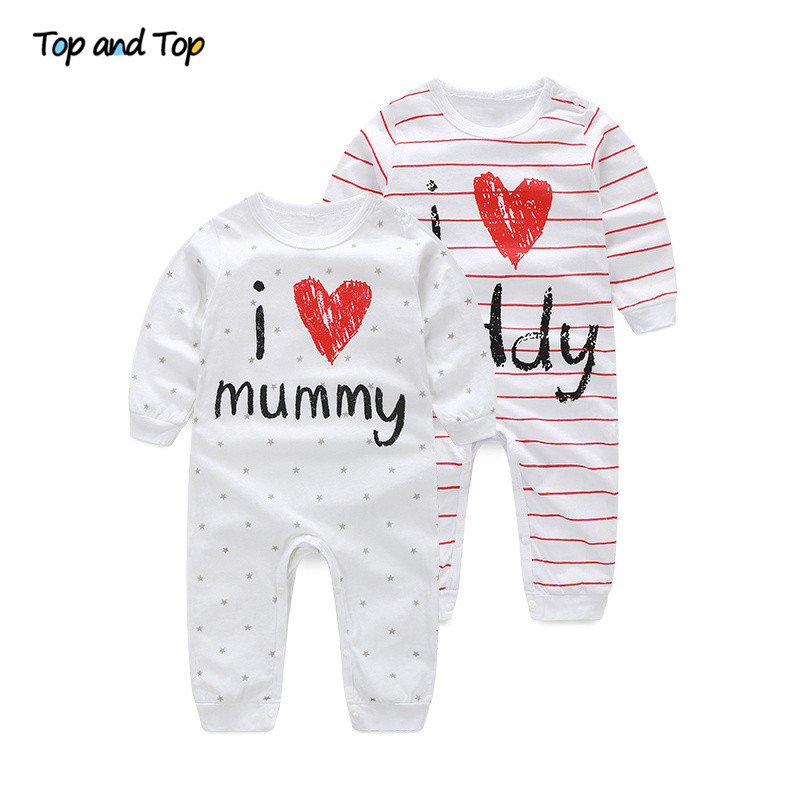 Pajamas Baby-Boys-Girls Jumpsuit Long-Sleeve Newborn Toddler Autumn Kids Cotton Lovely