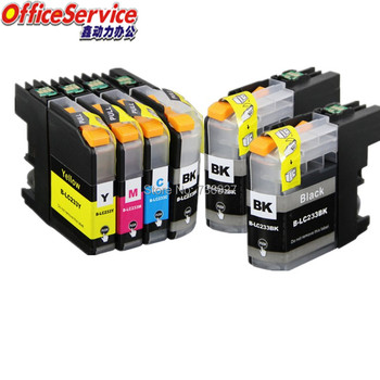 6PK Compatible Ink Cartridge LC233 For Brother DCP-J562DW MFC-J480DW J680DW J880DW J4620DW  MFC-J5720DW MFC-J5320DW DCP-J4120DW luocai lc223 lc221 4 pieces compatible ink cartridges for brother mfc j4420dw j4620dw j4625dw j480dw j5320dw j5620dw printers