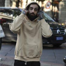 Qoolxcwear 2018 nova marca hoodie streetwear hip hop khaki preto verde rosa com capuz hoodies dos homens e camisolas tamanho S-XXL