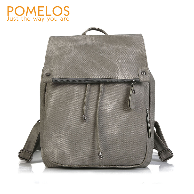 POMELOS Casual Backpack Women 2019 New Woman Backpack Waterproof PU Leather Backpacks For Teenage Girls School Bag Back PackPOMELOS Casual Backpack Women 2019 New Woman Backpack Waterproof PU Leather Backpacks For Teenage Girls School Bag Back Pack
