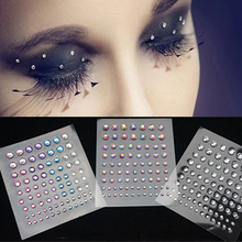 Jewel Eyes Sticker Tattoo Eyes Makeup Crystal Eyeliner Diamond Glitte Bridal Party Makeup Decoration Cosmetic
