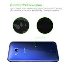 Qosea For HTC U11 Smarphone Case Slim Silicone Ultra-thin Transparent Soft Gel TPU For HTC U11 Phone Protective Cover Back Coque