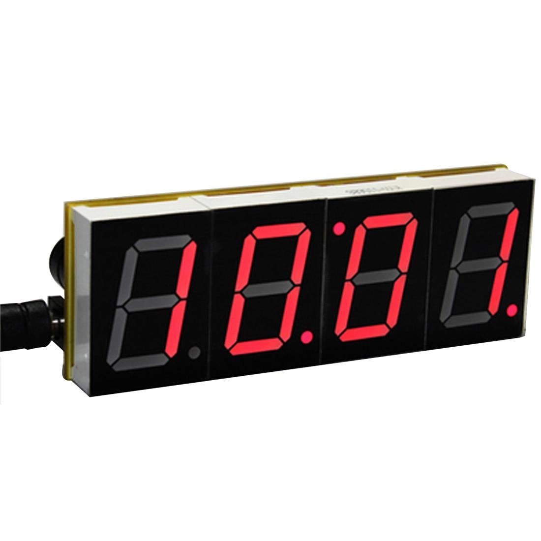<font><b>DIY</b></font> цифровой светодиодный Большой Экран Дисплей часы комплект красный