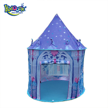 ФОТО  Top Sell Kids Play Tent Children Play House Ice Princess Tent Castle Shape Indoor And Outdoor Play Yard