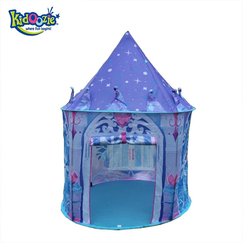 2017 Top Sell Kids Play Tent Juego de niños Casa Ice Princess Tent - Deportes y aire libre - foto 1