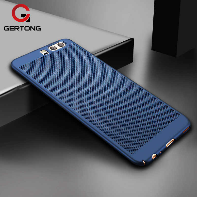 Hard PC Cover For Huawei P20 Lite Mate 10 Pro Y3 Y5 2017 Y6 II P10 Plus P8  Lite Nova Heat Dissipation Case for Honor 9 6X 8 Lite