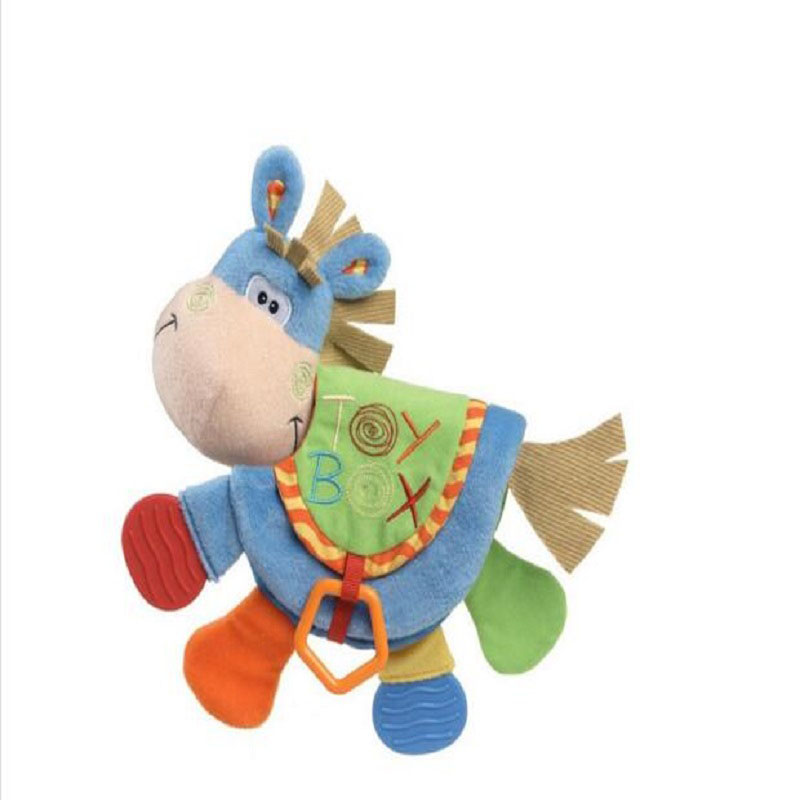 Animal Cloth Book 아기 완구 0-12 개월 활동 도서 개발 - 유아 및 유아용 장난감 - 사진 3