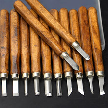 DIY Wood Carving Tool Kit Chisel Knife Wood Gouge Hand Engraving Flat Machete Angle Cutter Handmade Woodworking Tools Set 14cm 9 pcs set 6 25mm carving chisel carpenter tools flat woodworking chisel tool set professional wood carving knife hand tools