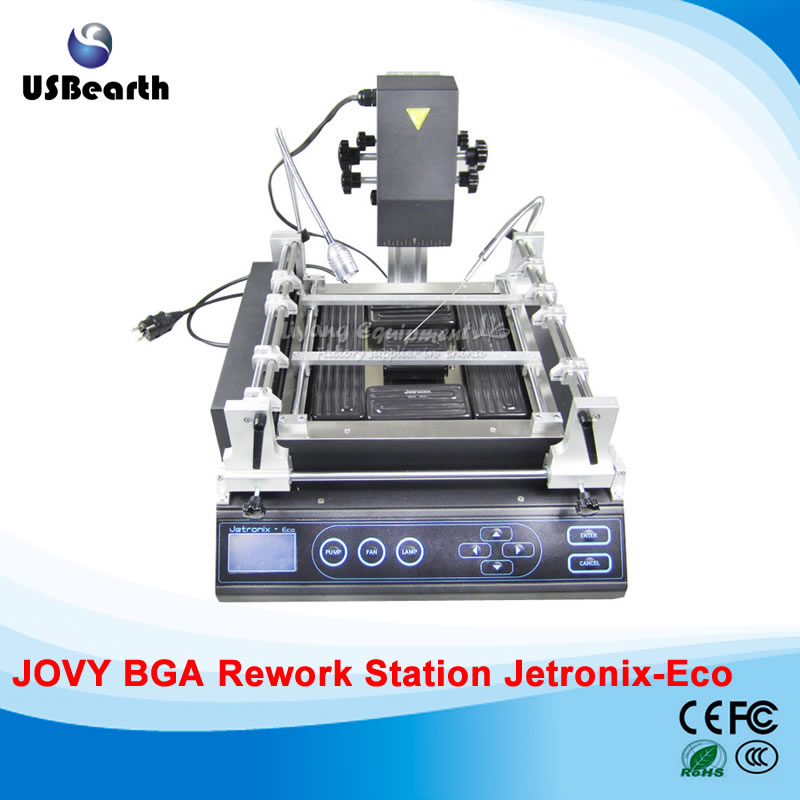 Jovy system, Jetronix Eco bga rework station, three temperature zones bga repair machine/system, welding machine,Free tax to EU shuttle star sp380iitouch screen hot air bga rework station sp 380ii free tax to russia