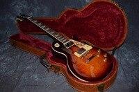 China electric guitar firehawk OEM shop wholesale custom shop electric guitar Rotting wood grain