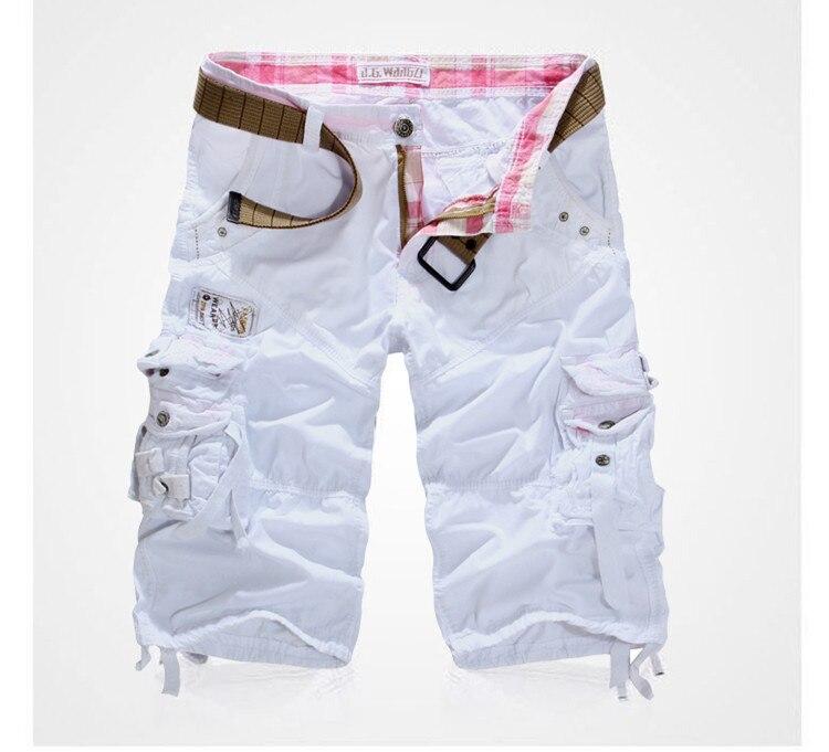 2015 new fashion casual mens shorts high quality casual mens cargo shorts 6 colors khaki army