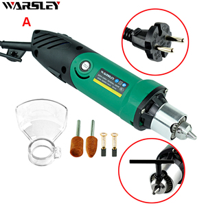 Image 5 - 6mm 480W High Power Electric Mini Drill Engraver With 6 Position Variable Speed Dremel Rotary Power Tools With Flexible Shaft