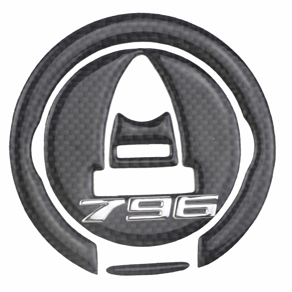 Gas Cap ADESIVI 3D CARBONIO PROTEZIONE per MOTO  for 796