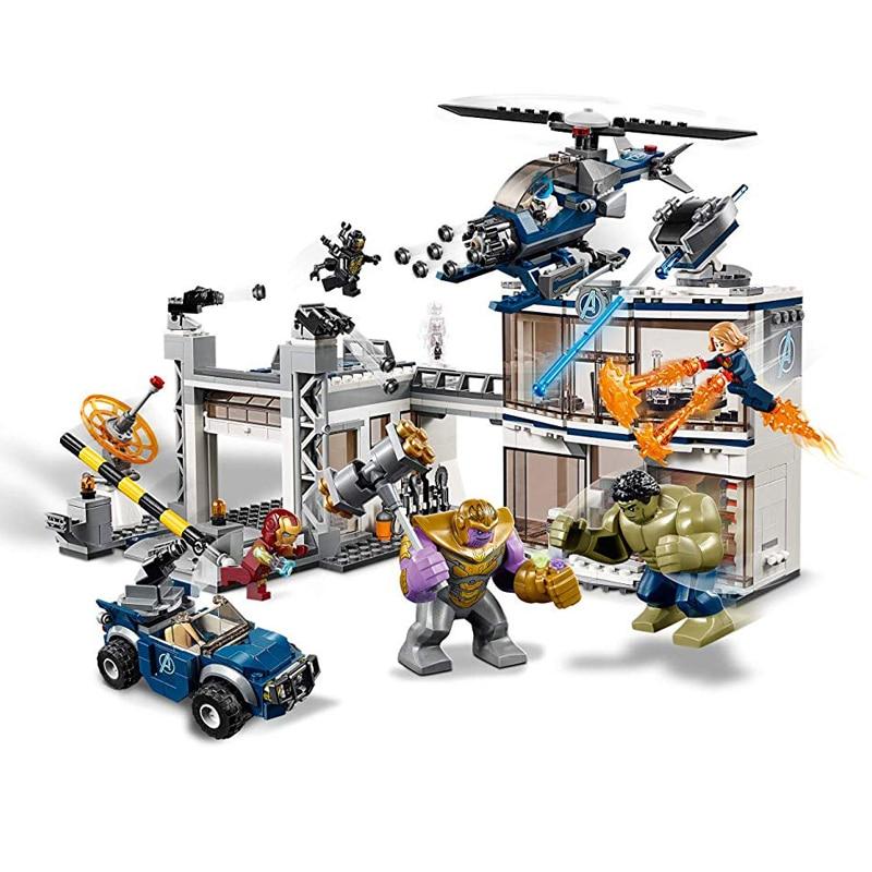 Marvel Avengers Endgame Compound Battle Building Kit Block Toys compatible with Legoings 76131Marvel Avengers Endgame Compound Battle Building Kit Block Toys compatible with Legoings 76131