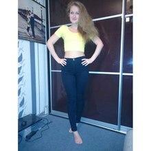 Slim High Waist Jeans For Women 2017 Stretch Women Jeans Femme Skinny Jeans Woman Denim Pencil Pants Trousers Plus Size Jeans