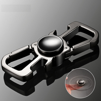 Finger Spinner Keychain Key Ring Fidget Spinner Handspinner Key Chain Key Holder Pants Buckle Bottle Opener