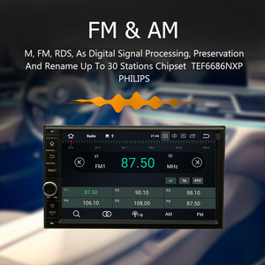 "Image 5 - MARUBOX Universal Double Din Car Radio GPS Android 9.0 4GB RAM 32GB ROM 7"" IPS Navi Stereo Multimedia Player Intelligent System"