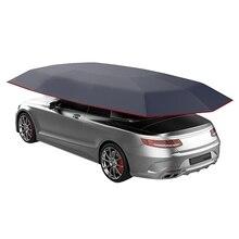 Универсальный автомобильный козырек от солнца зонтик крышка палатка ткань УФ Защита Водонепроницаемый 4X2,1 м
