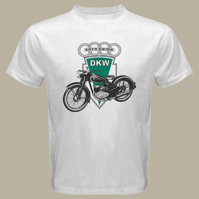 2018 New Brand T Shirt Men Short Sleeve Funny Dkw Motorcycle Rt 125
