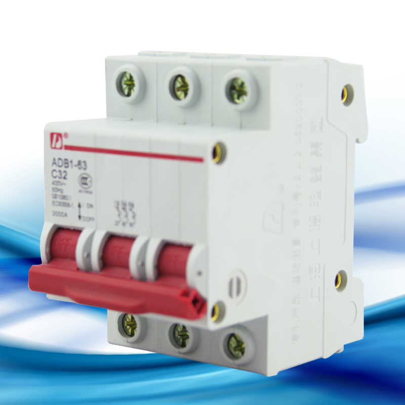 Air Switch Miniature Circuit Breaker ADB1 125 2P D Type