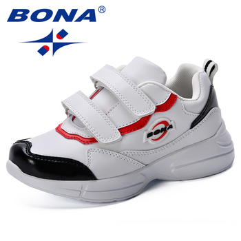 BONA Children Shoes  Boys Girls Casual Kid Sneakers Synthetic Sport Fashion 2018 New Popular Style
