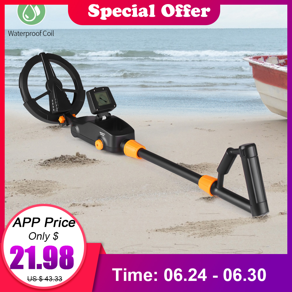 Children Lightweight Handheld Metal Detector Gold Detector Digger Treasure Hunter Tracker Seeker Waterproof Search Coil for KidsChildren Lightweight Handheld Metal Detector Gold Detector Digger Treasure Hunter Tracker Seeker Waterproof Search Coil for Kids