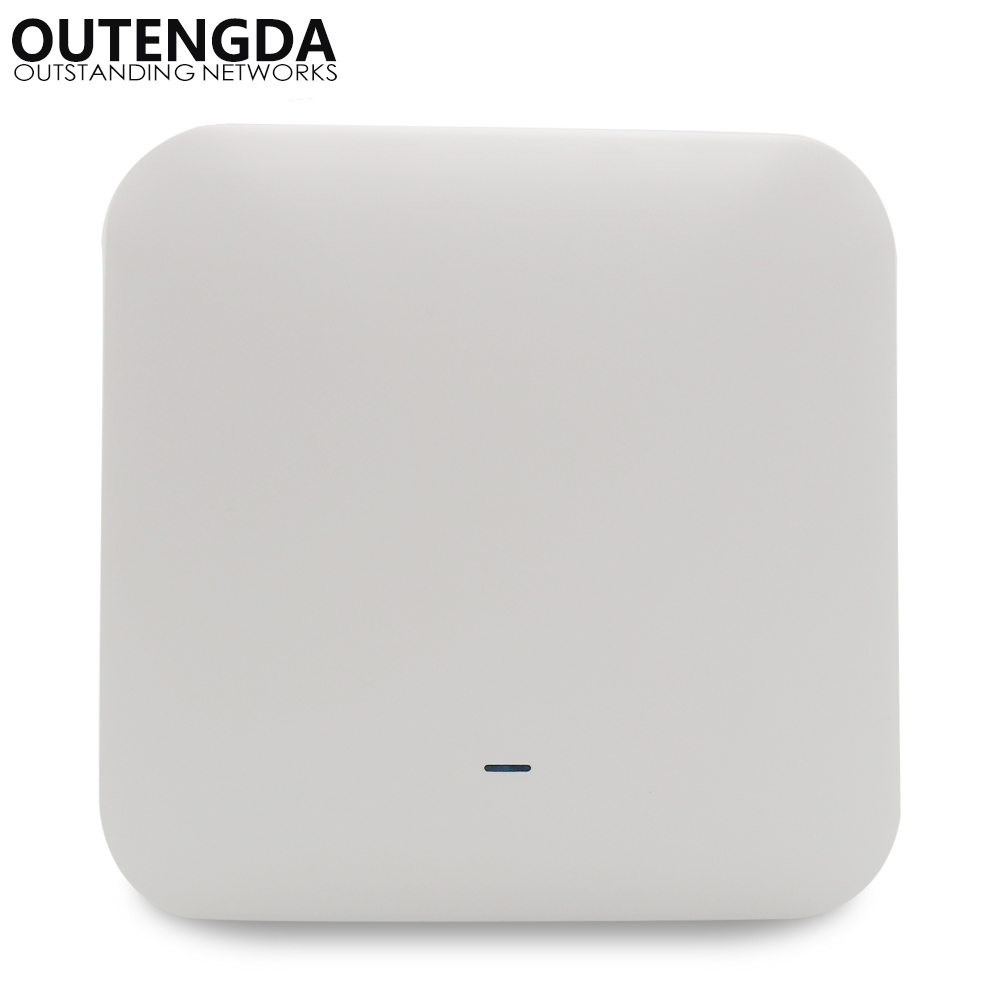 802.11ac 2.4G&5.8G Dual Band 750Mbps Ceiling Mount PoE WiFi AP Router Wireless Access Point - PoE Adapter Included tp link wifi router wdr6500 gigabit wi fi repeater 1300mbs 11ac dual band wireless 2 4ghz 5ghz 802 11ac