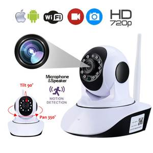 Monitor Ip-Camera Baby Surveillance-Camera-Plug Video Wifi Wireless Record Tf-Card Audio