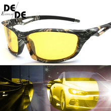 New Men Driving Sunglasses Polarized Mirror Sun Glasses Classic Night Goggles Brand Designer Eyewear