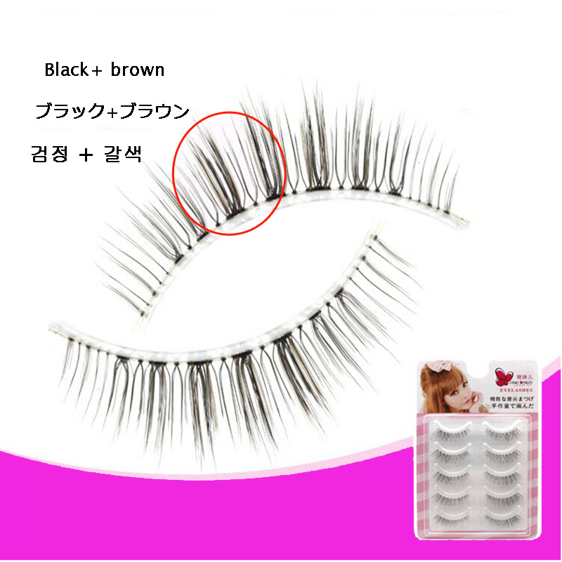 Japan Korea Fiber   False Eyelashes Silk Lashes Wholesale Synthetic Hair Lashes