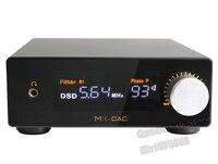 MX DAC двойной AK4497 + FPGA декодирования + Ультра низкий уровень фазового шума двойной часы 32Bit/384 кГц + DSD512 HIFI аудио декодер