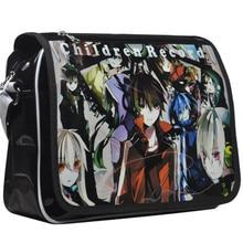 Japanese Anime Kagerou Project MekakuCity Actors Cosplay Messenger Bags patent leather Satchel Shoulder Bag