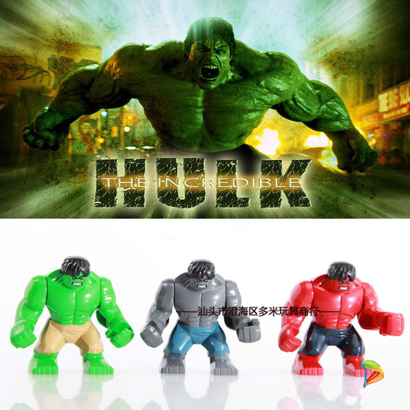 Anime Super Hero PVC Action Figureling Toy 7.5cm The Red Hulk Figures Toys Character Children Christmas Gift Brinquedos movie super hero the hulk pvc action figure toy 25cm red hulk green hulk figures toys free shipping