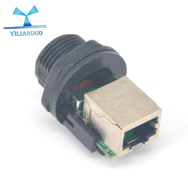 Admirable Yilianduo 2Piece Lot Rj45 Socket Panel Mount Ip68 Waterproof Wire Wiring Cloud Oideiuggs Outletorg
