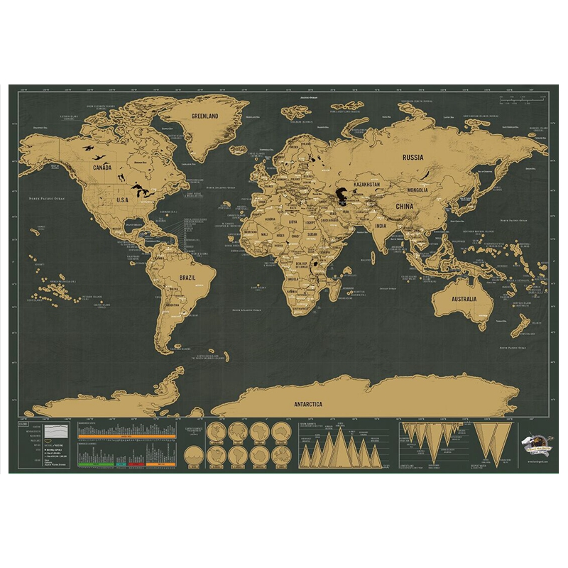 Aliexpresscom  Buy Free Shipping 1Piece Deluxe Travel Map