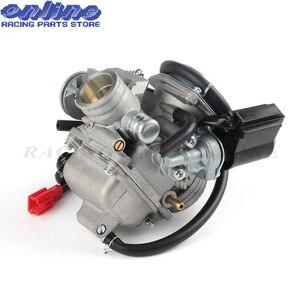 PD24J 24 мм carb Электрический карбюратор для Gy6 100cc 125cc 150cc 200cc двигатель Мотоцикл ATV Картинг Мопед и скутер dirrt велосипед
