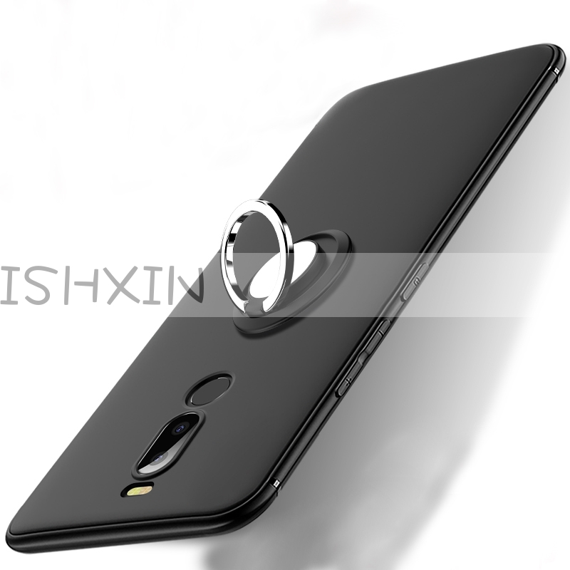 For <font><b>Meizu</b></font> <font><b>M6T</b></font> Case <font><b>Meizu</b></font> <font><b>M6T</b></font> Cover Finger Ring Magnet Matte TPU Silicon Cover For <font><b>Meizu</b></font> M 6T T6 <font><b>M811H</b></font> 5.7'' image