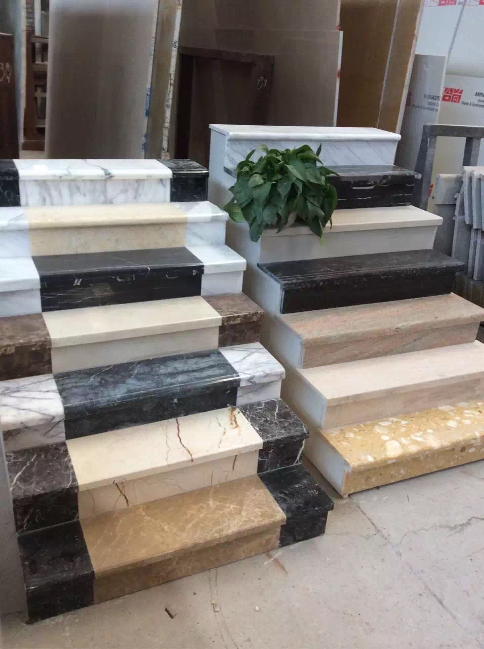 Phoenix Home Design Natural Stone Marble Staircase Manufacturer Price  Modern Marble Stair For Building In Stones From Home U0026 Garden On  Aliexpress.com ...