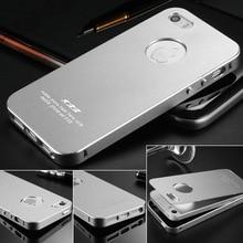 Ultrathin Aluminum Case For iPhone 5 5S SE 2 IN 1 Phone Bag