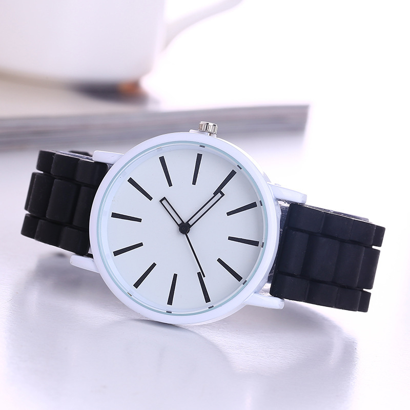 Hot Sale Candy Silicone Watch Women Ladies Watches Fashion Dress Quartz Wrist Watch Relojes Mujer