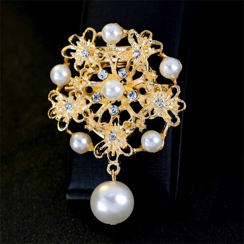 Fashion Alloy Pins And Brooches For font b Women b font Brooches For Scarf And Sweater