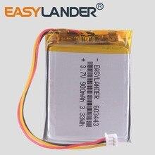 цены 3 line Li polymer battery 3.7V e road route LH950 LH980N 603443 900mAh 5 inch navigator  car dvr video recorder dash cam