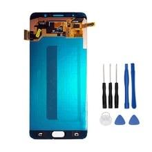 Дешевые Super AMOLED ЖК-дисплей для Samsung Galaxy Note 5 N9200 n920t N920A n920i n920g ЖК-дисплей Дисплей Сенсорный экран планшета Ассамблея + Инструменты