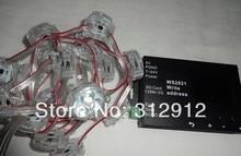 20 шт. DC12 DMX512 WS2821A пикселей модуль + WS2821 адрес писатель DMX