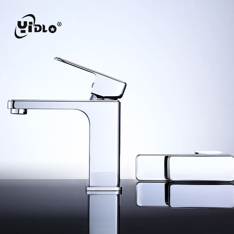 Black Vertical Basin Faucet Dumb And Blackening Torneira Pia Banheiro Hot Cold Washbasin Water Tap Basin Faucets Toilet B3 in Basin Faucets from Home Improvement