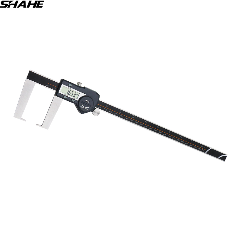 0-300 mm outside groove digital caliper with flat point steele vernier caliper electronic measuring tools digital diai gem caliper measures from 0 12 7 mm 0 5 by 0 01 mm 0 0005 goldsmith tool caliper jewelry measurement tools