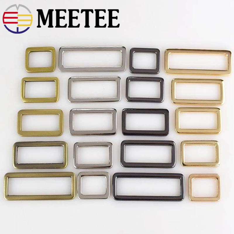 Home & Garden Arts,crafts & Sewing Bronze 38mm Metal Curved Tri-glide Adjusted Belt Webbing Buckles For Bags Strap D Ring Square Loop Diy Sewing Accessories