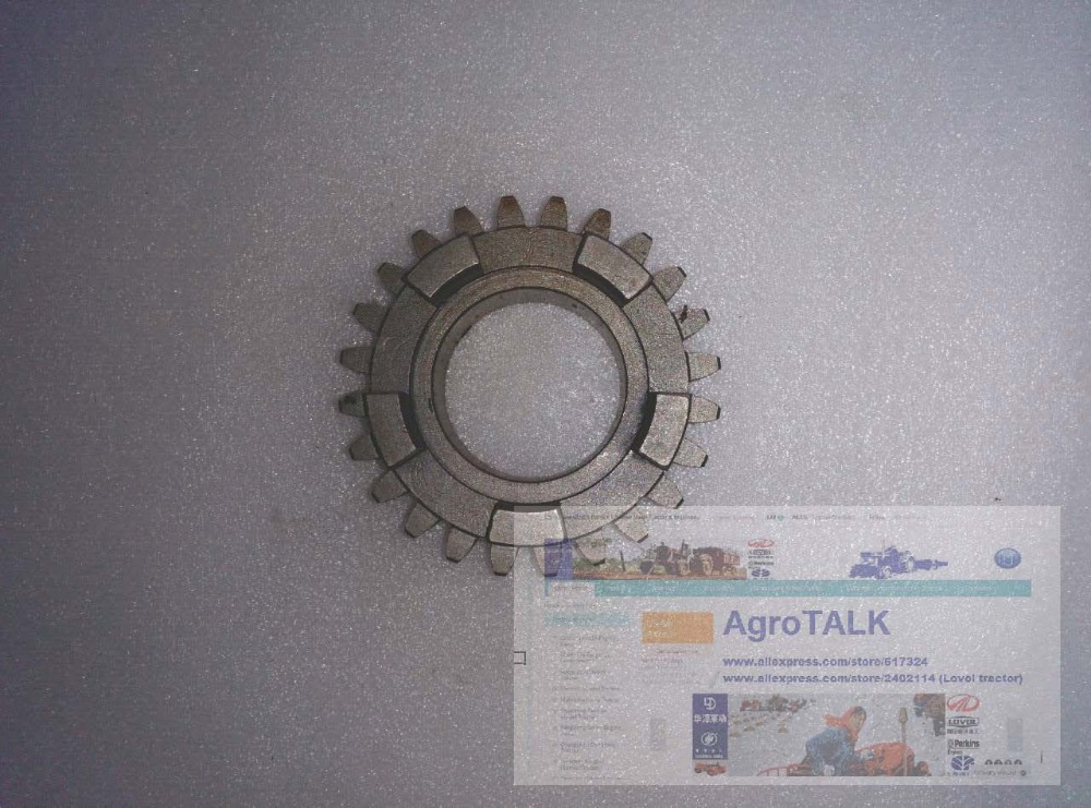 Fengshou Estate 180 184 tractor parts, the driven gear (1000RPM) for PTO, part number: 18.41.213 driven to distraction