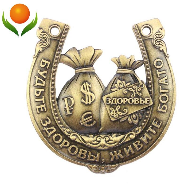 Última moda plata Ruso coleccionables herraduras, hermosa festivo y fiesta, tama