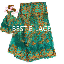 African  tulle lace Hot new for 2016 Color  gupure african lace fabric for Nigerian wedding dresses 1613b0506d25